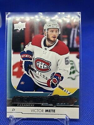2017/18 Upper Deck Series 1 Young Guns Victor Mete