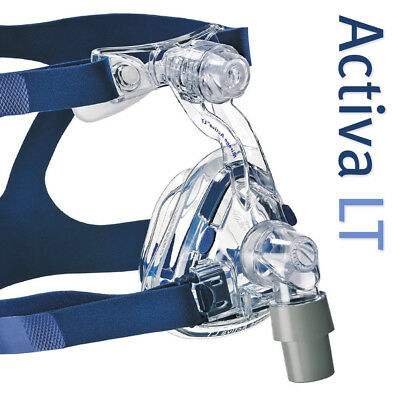 Mirage Activa™ LT Nasal CPAP Mask with Headgear (Size Medium)