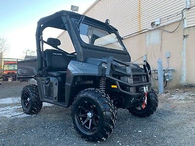 2012 Polaris Ranger XP800 HO Limited Edition, Roof, Upgraded rims and tires,