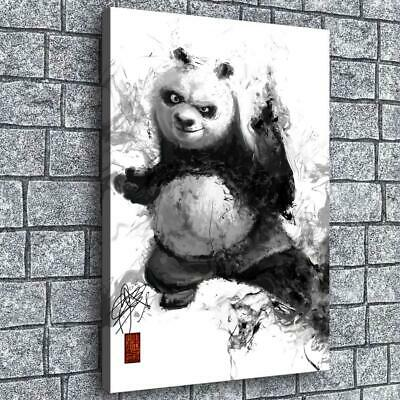 "12""x16""kungfu Panda HD Canvas prints Painting Home decor Picture Wall art Poster"