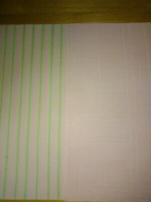 Paper 2 x A4 sheets Pink, Pink and green pattern Cardmaking scrapbooking Craft