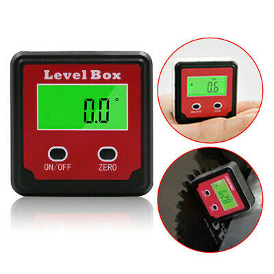 tool Gauge LCD display Protractor  Digital Inclinometer Level Box Angle Meter