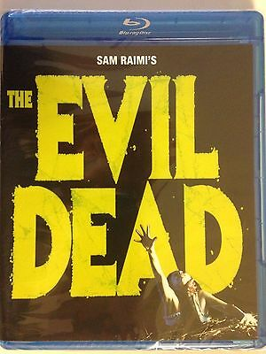 The Evil Dead (Blu-ray Disc, 2010) Bruce Campbell (NEW)