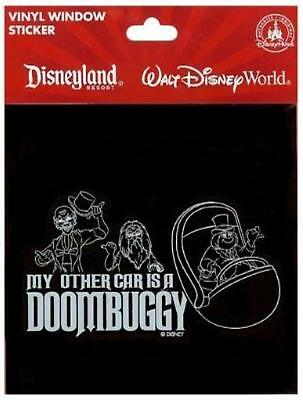 Disney Parks Haunted Mansion Other Car is a Doombuggy Vinyl Window Sticker Decal