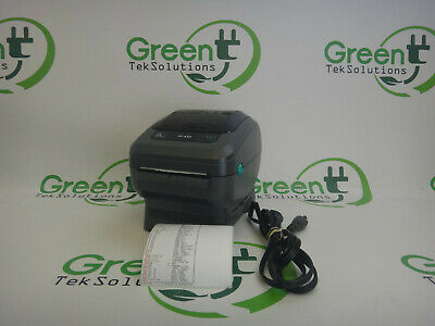 Zebra ZP450 Direct Thermal Label Printer P/N: ZP450-0501-0000 Tested Working