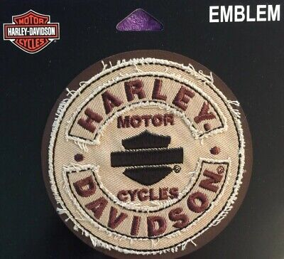 Harley Davidson Genuine Patch -  Bar and Shield Rockers SM EM297042