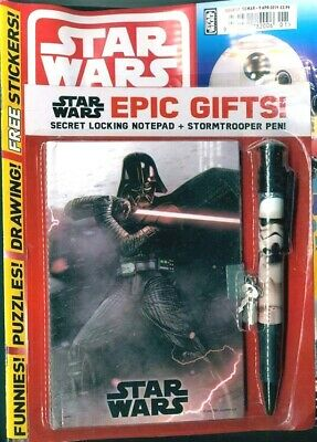 Star Wars Galaxy Uk Magazine Issue #1  2019 ~ With Epic Gifts ~ New ~