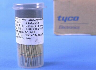 100 Tyco ARINC 600 Front Release Contacts 211431-4