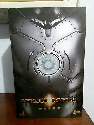 Hot Toys MMS78 IRON MAN Mark II  1/6th Scale Action Figure