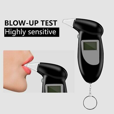 HOT Digital Breath Alcohol Tester Breathalyzer's Mouthpieces Blowing Nozzle