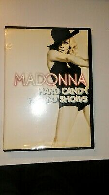 "Madonna Hard Candy Shows Rare Fan Club Promo Dvd ""Look"" Free Ship"