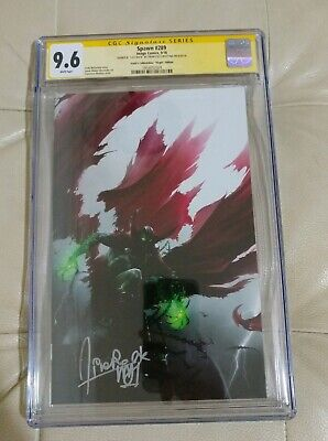 Spawn #289 Image Scott's Collectables Virgin signed Francesco Mattina CGC 9.6