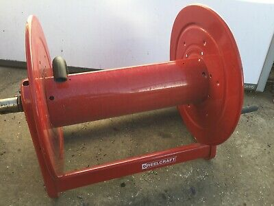 Reelcraft CA33118-L 3/4 x 175ft, 1000 psi, Reel without Hose, Hand Crank USED