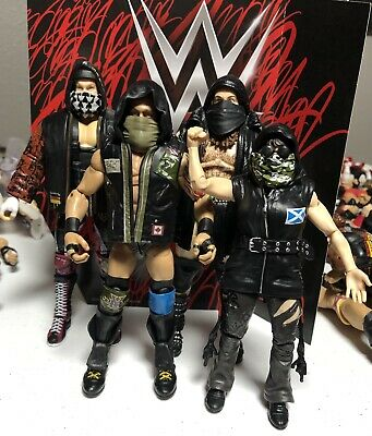 WWE Mattel Elite Sanity Set of 4 Alexander Wolfe Nikki Cross Eric Young Dane NXT
