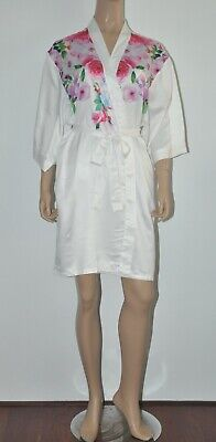 BRAS N THINGS summer dressing gown EUC Sz S / 8 10 12 BUY 5 ITEMS = FREE POST