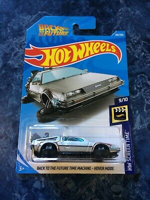HOT WHEELS 2019 BACK TO THE FUTURE TIME MACHINE HOVER MODE DELOREAN Screen Time
