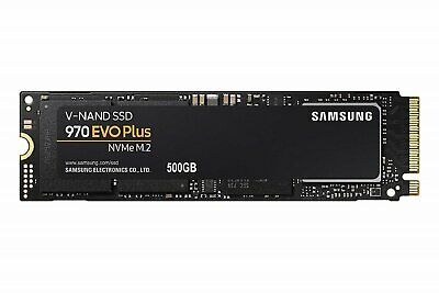 SAMSUNG 970 EVP PLUS NVMe M.2 SSD 3,500MB/s Read 500 GB SOLID STATE DRIVE NEW AU