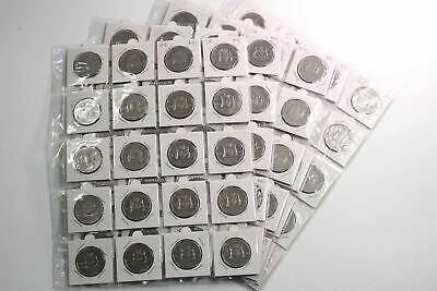 100x 2001 Federation Australian 50c Fifty Cent Circulated Coins