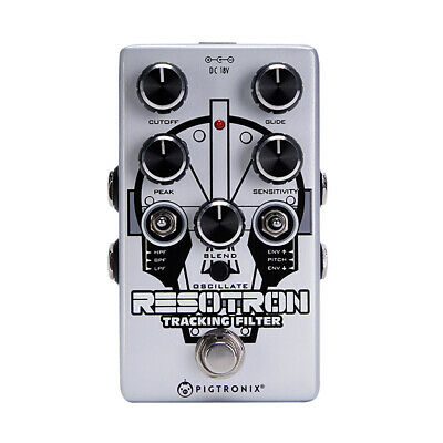 Pigtronix Resotron Analog Filter Guitar Effects Pedal