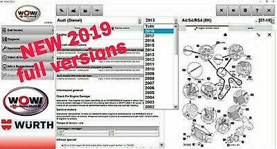 Wow Wurth Diagnostic Software 2019+Delphi +Video Instal+Multilanguage