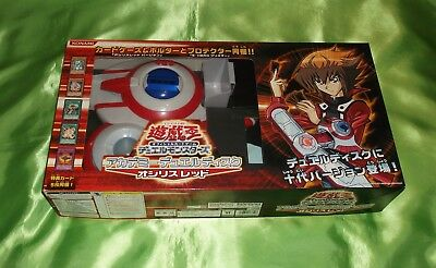 YuGiOh OSIRIS red  DUELL DISK GX rot SLIFER COSPLAY DUEL DISC DISQUE in BOX !!!