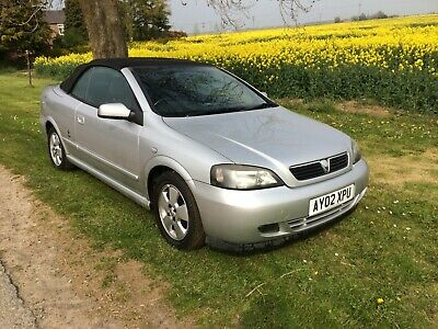 Vauxhall Astra 16v Bertone 2 Door Convertible Power Hood  BRAND NEW MOT