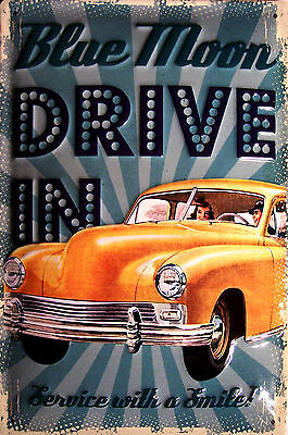 Aperitivo Rossi Metal Plate Metal Tin Sign 3d Embossed Arched 7 7//8x11 13//16in