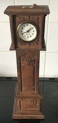 Vintage Minature Precista Grandfather Clock