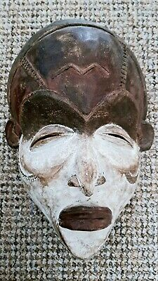Antiques Old Tribal Ogoni African Mask  Nigeria  not a tourist piece 32cm x 21cm