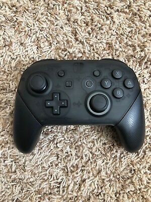 Nintendo Switch Black Official Genuine Pro Controller Wireless - Unit Only