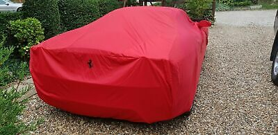 NEW Genuine Ferrari F430 Car garage cover Seat steering wheel covers bag UNUSED