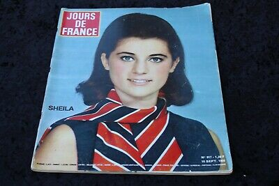 JOURS DE FRANCE SHEILA n° 617 10 Septembre 1966