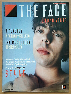 The Face magazine #52 August 1984 exc condition