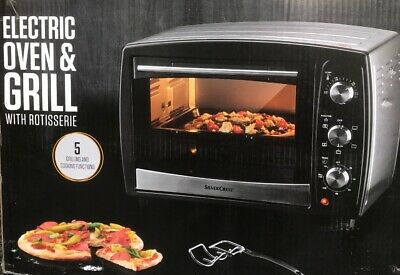 ELECTRIC OVEN & GRILL with Rotisserie 25L 5 Functions