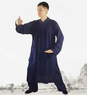 9a8ca5d84 3 Pieces Wudang Taoist Robe Kung Fu Tai Chi Uniform Martial Arts Wing Chun  Suit