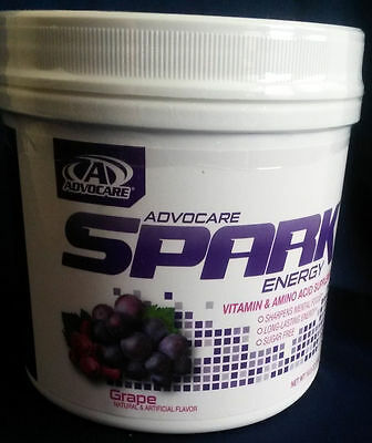 Advocare Spark Grape 42 canister Amino Acid - QUICK SHIPPING