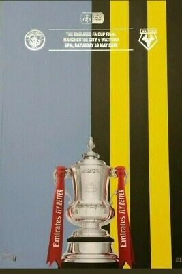 Fa Cup Final 2019 Programme - Manchester City V Watford