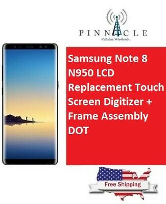 OEM Samsung Galaxy Note 8 N950 LCD Screen Digitizer Replacement with Dot