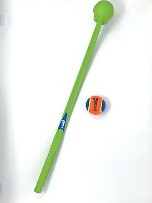 "Chuckit Green CLASSIC BALL LAUNCHER 26"" For Medium Balls Dog Fetch Toy Open Box"