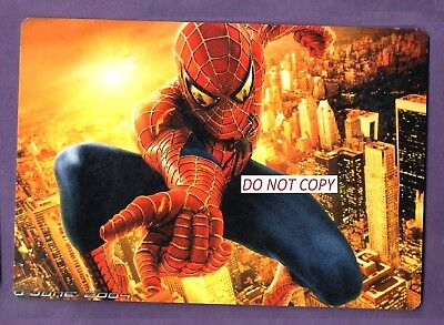 Spiderman Calendar Cards X 6    Fast Post From Uk  Seller