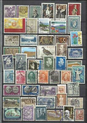 G174K-Lote Sellos Grecia, No Taso,Greece Stamps Lot Without Pricing Griechenland