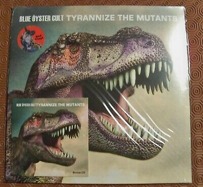 """Blue Oyster Cult """"Tyrannize The Mutants"""" Red Coloured Lp + Cd Live Detroit 1977"""