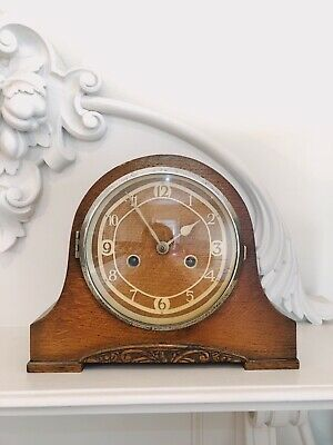 Mantel Clock Westminster Chimes Made In England