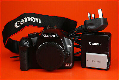 Canon EOS 450D DSLR Camera, Sold With Battery, Charger Only 8,101 Shots