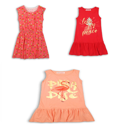 GIRLS SUMMER DRESS Clothing Teen Beach Kids Tassel Sundress