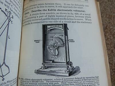 1914 Galvanometers Voltmeters Shunts Dynamo Switchgear Amp Meter Windings Book