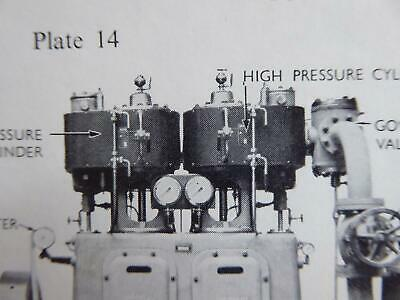 Stationary Engines Technical Book On Heat Engines Works Maths Fuels 1960S Book