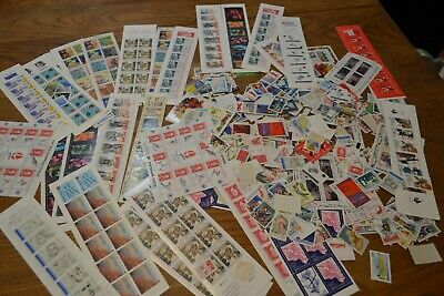 France gros lot timbres neufs ** carnets timbres faciale 300 €