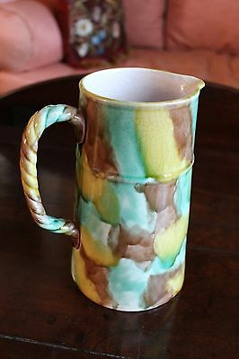 Possible Southern Earthenware Pitcher with Underglaze Manganese&Slip Decoration