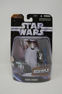 Hasbro Star Wars Episode III Heroes & Villains General Grievous Action Figure